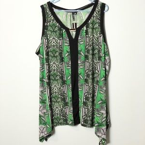 New Directions NWT sleeveless blouse size 3X